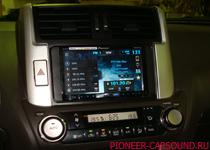Pioneer AVH-X8500BT в Toyota Prado 150
