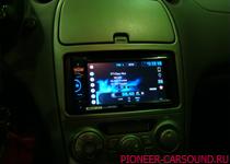 Pioneer AVH-X2600BT в Toyota Celica