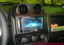 Pioneer AVH-X8500BT в Jeep Compasss