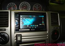 Pioneer AVH-X2600BT в Nissan X-Trail